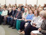 Участники родительского собрания слушают выступление Министра образования и науки РФ