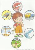 Научите ребенка выполнять простые правила безопасности!