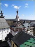 Саввино-Сторожевский монастырь, XV-XVII вв.: Троицкая церковь, с Казанской трапезной
