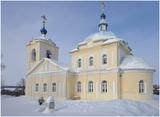 Домодедовский район, Церковь Сергия Радонежского,1901-1911 гг., с. Кишкино.