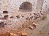 Реставрация кирпичной кладки стен (вычинка)