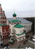 Саввино-Сторожевский монастырь, XV-XVII вв.: Церковь Преображения, трапезная, звонница