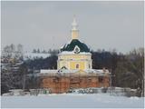 Здание бывшей церкви (Церковь Архангела Михаила, XVIII в.) Солнечногорский район, с. Тараканово