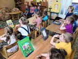В гостях у старших дошкольников детская библиотека