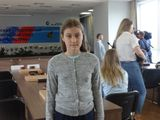 Победитель Гран-При Аня Чернова.