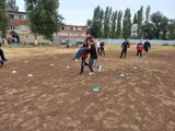 7 сентября на стадионе колледжа руководитель физического воспитания Спелов А.Н. и преподаватель физической культуры Галкина М.С. провели спортивное мероприятие «Эстафета безопасности», в котором приняли участие студенты 1 курса.