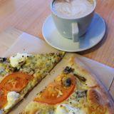 пицца и кофе ;)