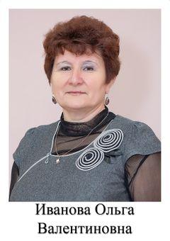 Иванова Ольга Валентиновна