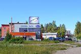 Монитор напротив автовокзала (ул. Чапаева - ул. Суоярвская)