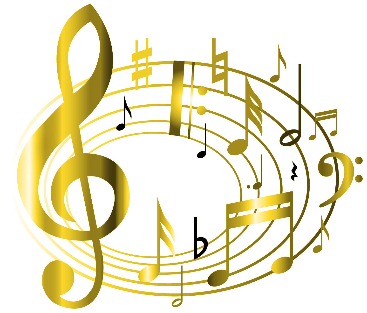 концерт картинки скрипичный ключ с нотами дна