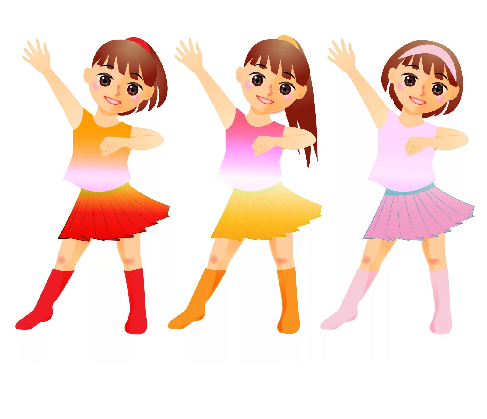 Рисунки танцев для детей