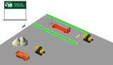 Управление экскаватором - открытая площадка