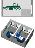 Управление автогрейдером - мастерская