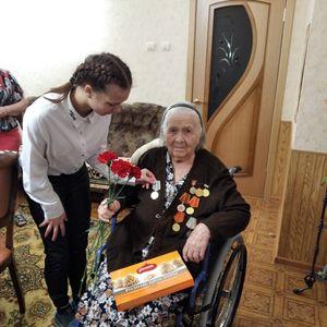 Студенты техникума вручили юбилейные медали к 75-летию Победы в Великой Отечественной войне