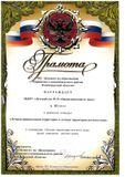 """III место в районном конкурсе """"Лучшая территория д/с"""" 2010 г."""