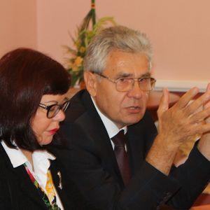 Президент Российской академии наук академик Александр Сергеев посетил Ломоносовский дом