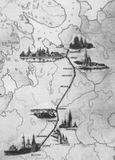 Путь М.Ломоносова из Холмогор в Москву