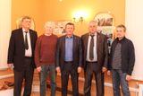 Гости Ломоносовских чтений в Ломоносовском доме