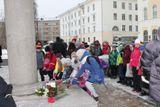 Церемония возложения цветов к памятникам М.В.Ломоносову 19 ноября
