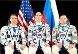 Фото с автографами международного экипажа 63 экспедиции на МКС: К. Кэссиди, А.А. Иванишин, И.В. Вагнер