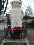 Памятник на могиле Ломоносова в некрополе Александро-Невской лавры, Санкт-Петербург
