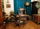 Кабинет ученого (фрагмент). Музей М.В.Ломоносова в Санкт-Петербурге