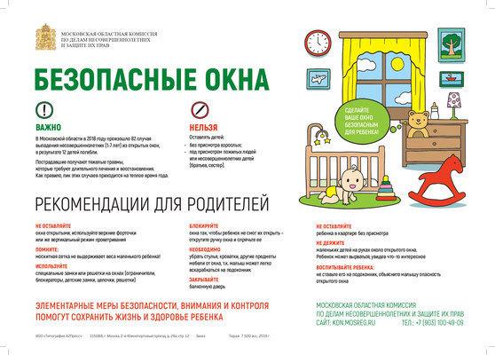 Постер Безопасные окна