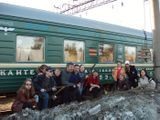 Вагон 3053 в Мурманске.
