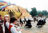 Выступление «Кантеле» в Москве, на Всероссийском фестивале национальной культуры. 2002