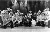 Сцены из «Карельской рыбацкой пляски». Солисты — Эльза Баландис и Илья Жуков 1950- е гг.