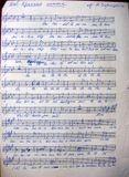 Финская народная песня «Красная лента» в обработке Юрия Зарицкого (фрагмент партии сопрано). Из архива «Кантеле»