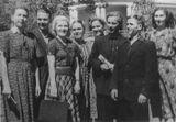 «Кантеле» в Средней Азии, 1953. Четвертая слева – Люция Теппонен