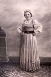 Софья Оськина — исполнительница народных песен. 1954 год