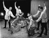 «Вепсский танец с ложками». 1967 г.