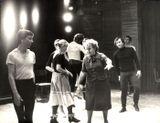 На репетиции в «Кантеле», 1981