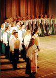 «Кантеле» на Всероссийском фестивале национальной культуры. Москва, Концертный зал им. П.И.Чайковского, 2002