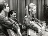 На концерте в Германии 1970-е гг. Слева направо: Анна Власова, Виктор Зайцев, Валентина Матвеева