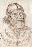 Портрет Максима Гаврилова работы вьетнамского художника. Сделан с натуры в 1994 г. в Финляндии