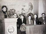 С.Оськина и Е.Игнатьев в гостях у шахтеров Воркуты. 1960-е годы