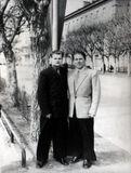 Солисты ансамбля «Кантеле» Геннадий Кутузов и Петр Титов. Начало 1950-х годов