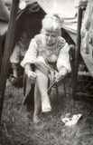 Татьяна Антышева. На гастролях в Чехословакии, 1978 г.