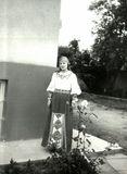Артистка оркестра «Кантеле» Наталья Акулишнина. Чехия, 1978 г.