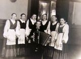 Народная вокальная группа. 1954 год