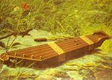 Традиционное кантеле (фото с финского плаката)