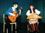 Дуэт: Ирина и Александр Шишкановы (кантеле и гитара)