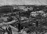 Центр города в разрухе (фото из немецкого журнала)