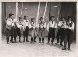 1960-е годы. Финский мужской вокальный ансамбль «Старые холостяки». Слева – Петр Титов