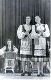 Дуэт: Милица Кубли и Сиркка Рикка. Москва, зал имени П.Чайковского, 21 февраля 1949 года