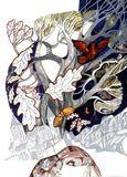 «Три волшебных листочка». Скандинавские народные сказки (1986 г.). Обложка книги и иллюстрации к сказкам: «Три волшебных листочка», «Кто нынче мал, завтра велик», «Принцесса с Хрустальной горы»