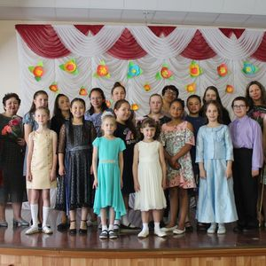 Концерт учащихся класса преподавателей Капустиной Н.И. и Старушко О.Г.